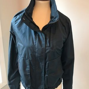 Athleta navy jacket size S. Worn twice.